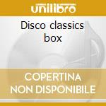 Disco classics box cd musicale