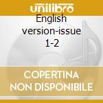 English version-issue 1-2 cd musicale