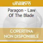 Law of the blade digi cd musicale di Paragon