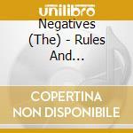 Rules & regulations cd musicale di Negatives