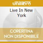 LIVE IN NEW YORK cd musicale di TRISTANO LENNIE