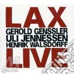 G.Genssler / U.Jennessen  /H.Walsdorff - Lax Live cd musicale di GENSSLER/JENNESS