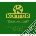 Kontor - top of the clubs 2012 cd musicale di Artisti Vari