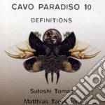 CAVO PARADISO 10 DEFINITIONS              cd musicale di AA.VV.
