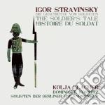 Stravinsky Igor - Histoire Du Soldat  - Berliner Streichquartet  /dominique Horowitz, Narratore cd musicale di Igor Stravinsky