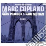 Marc Copland - Voices - New York Trio Recordings Vol. 2 cd musicale di COPLAND & PEAMARC