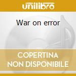 War on error cd musicale di ROTERSAND