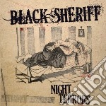Black Sheriff - Night Terrors cd musicale di Sheriff Black