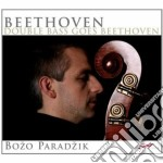 Double bass goes beethoven cd musicale di Beethoven ludwig van