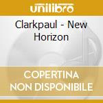 A new horizon cd musicale di Paul Clark