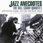 Jazz anecdotes cd musicale di Bill Crow