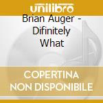 Definitely what - ltd cd musicale