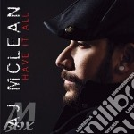 Have it all cd musicale di Aj Mclean