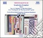 SINFONIE (INTEGRALE) VOL.1 (5 CD): SINFO cd musicale di Dmitri Sciostakovic