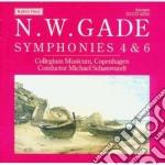 Gade Niels Wilhelm - Sinfonia N.4 Op.20, Sinfonia N.6 Op.32 cd musicale di Jacob Gade