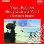 Holmboe Vagn - Quartetti Per Archi Vol.1 cd musicale di Vagn Holmboe