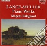 Opere per pianoforte cd musicale di Peter Lange-muller