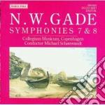 Gade Niels Wilhelm - Sinfonia N.7 Op.45, Sinfonia N.8 Op.47 cd musicale di Jacob Gade