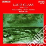 Glass Louis - Sonata N.1 Op.6, Sonata N.2 Op.25, Fantasia Per Pianoforte Op.35 cd musicale