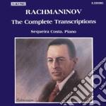 Rachmaninov Sergei - Trascrizioni X Pf Di Musiche Di Bach, Kreisler, Bizet, Mussorgsky, Mendelssohn,  - Costa Sequeira  Pf cd musicale di Sergei Rachmaninov