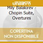 Re lear (ouv), in bohemia, chopin suite, cd musicale di Balakirev