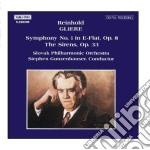 Gliere Reinhold - Sinfonia N.1 Op.8, Le Sirene Op.33  - Gunzenhauser Stephen Dir  /slovak Philharmonic Orchestra cd musicale di GLIERE
