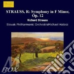 SINFONIA OP.12 cd musicale di Richard Strauss