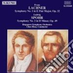 SINFONIA N.1 OP.32 cd musicale di Lachner franz paul