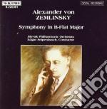 Zemlinsky Alexander Von - Sinfonia In Sib Magg.  - Seipenbusch Edgar Dir  /slovak Philharmonic Orchestra cd musicale di Alexander Zemlinsky