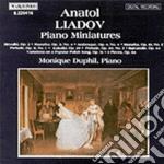 Lyadov Anatol - Musica X Pf: Biryulki Op.2, Mazurca N.2op.10, N.4 Op.3, Preludio N.1 Op.11, N.3 cd musicale di Anatol Liadov