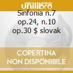 Sinfonia n.7 op.24, n.10 op.30 $ slovak cd musicale di Myaskovsky