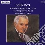 Dohnanyi - Ruralia Hungarica cd musicale di Erno DohnÁnyi