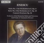 Enescu George - Suite N.1 Op.9, N.2 Op.20, Concerto Ouverture Op.32  - Conta Iosif Dir  /orchestra Della Radio E Tv Rumena, Conatantin Silvestri cd musicale di George Enescu