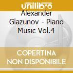 MUSICA X PF VOL.4: 4 PRELUDI E FUGHE OP. cd musicale di Glazunov alexander k