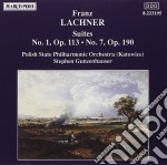Lachner Franz Paul - Suite N.1 Op.113, N.7 Op.190  - Gunzenhauser Stephen Dir  /polish State Philharmonic Orchestra, Katowice cd musicale di Lachner franz paul