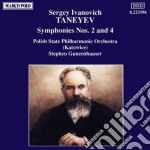 Taneyev Sergey Ivanovich - Sinfonia N.2, N.4 Op.12 cd musicale di TANEYEV SERGEY IVANI