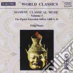 Musica Classica Siamese /the Piphat Ensemble Con Strumenti Originali cd musicale