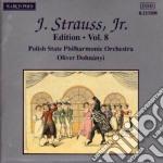 EDITION VOL. 8: INTEGRALE DELLE OPERE OR cd musicale di Johann Strauss