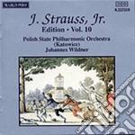 EDITION VOL.10: INTEGRALE DELLE OPERE OR cd musicale di Johann Strauss