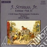 EDITION VOL.11: INTEGRALE DELLE OPERE OR cd musicale di Johann Strauss
