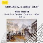 EDITION VOL.17: INTEGRALE DELLE OPERE OR cd musicale di Johann Strauss