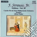 EDITION VOL.20: INTEGRALE DELLE OPERE OR cd musicale di Johann Strauss