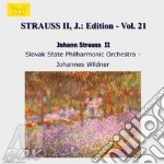 EDITION VOL.21: INTEGRALE DELLE OPERE OR cd musicale di Johann Strauss