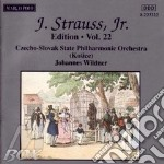 EDITION VOL.22: INTEGRALE DELLE OPERE OR cd musicale di Johann Strauss