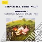 EDITION VOL.27: INTEGRALE DELLE OPERE OR cd musicale di Johann Strauss