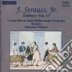 EDITION VOL.33: INTEGRALE DELLE OPERE OR cd musicale di Johann Strauss