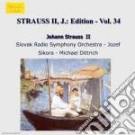 EDITION VOL.34: INTEGRALE DELLE OPERE OR cd musicale di Johann Strauss