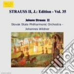 Strauss Johann - Edition Vol.35: Integrale Delle Opere Orchestrali cd musicale di Johann Strauss