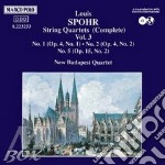 QUARTETTI X ARCHI VOL.3 (INTEGRALE): N.1 cd musicale di Louis Spohr
