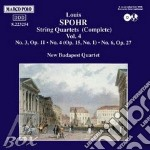 QUARTETTI X ARCHI VOL.4 (INTEGRALE): N.3 cd musicale di Louis Spohr